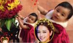 Fans 'ngất ngây' ngắm con gái Jennifer Phạm 'đọ sắc' bên hoa