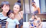 Gia đình Đăng Khôi hạnh phúc đi du lịch cùng nhau