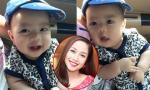Ốc Thanh Vân khoe nụ cười 'hở lợi' cực yêu của con trai út
