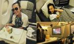 Đoan Trang ngồi máy bay hạng sang đi Mỹ