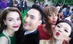 Hồ Ngọc Hà, Tóc Tiên rạng rỡ bên siêu mẫu Tyra Banks