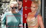 Britney Spears lộ vòng một chảy xệ như 'chực rơi xuống đất'
