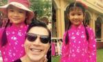 Trần Bảo Sơn đưa con gái đi chơi ngày giáp Tết