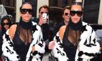 Kim Kardashian diện trang phục gợi cảm khoe vòng một 'ngồn ngộn' sau sinh