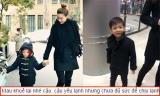 Hồ Ngọc Hà lo lắng khi Subeo bị ốm vì cái lạnh của Hà Nội