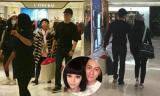Phạm Băng Băng và Lý Thần đưa mẹ đi mua sắm ngày giáp Tết