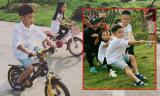 Subeo 'quậy tung' ở Hà Nội trong kỳ nghỉ lễ với mẹ Hà Hồ