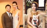 Tin sao Việt mới 25/9: Hà Anh xinh đẹp bên cạnh nhà vô địch quyền anh, Mai Thu Huyền mặc lại váy Angela Phương Trinh