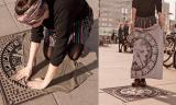 Người phụ nữ đặt quần áo lên nắp cống ai nấy đều tưởng cô bị điên, sau khi nhìn thấy sản phẩm lại muốn bắt chước ngay