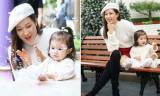 Con gái 16 tháng tuổi của mỹ nhân TVB Chung Gia Hân ngày càng đáng yêu