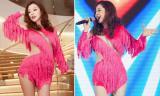 Jennifer Phạm diện váy tua rua ngắn cũn khoe giọng hát ngọt ngào
