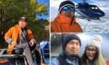 Nhạc sĩ Quốc Trung cùng gia đình đi du lịch nhiều nước trên thế giới