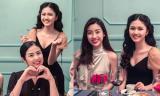 Hoa hậu Đỗ Mỹ Linh, Ngọc Hân đến chúc mừng sinh nhật Á hậu Thanh Tú