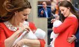 Vợ chồng Công nương Kate đưa tiểu Hoàng tử thứ 3 ra mắt công chúng sau 7 tiếng sau sinh