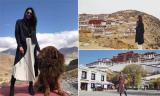 Hoa hậu Hương Giang và chuyến đi đầy cảm xúc đến vùng đất Tây Tạng