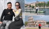 Hành trình ngọt ngào của Á hậu Ngô Trà My và ông xã khi đi du lịch châu Âu