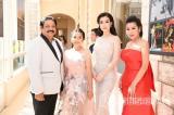 Cindy Trần Mai Anh quyến rũ dự tiệc chiêu đãi liên hoan phim Cannes tại Pháp