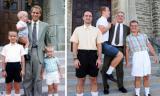 Ba anh em trai tái hiện lại hình ảnh thời thơ ấu khiến dân mạng 'phát sốt'