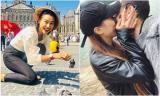 Huỳnh Anh 'khóa môi' bạn gái mới ở Đà Lạt,  tình cũ Hoàng Oanh cũng vi vu trời Tây với hội bạn thân