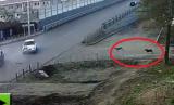 Kỳ lạ: Hai chú chó chuyên hóng tại nạn ở ngã ba tử thần