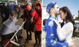 Xuân Thùy 'Cô gái xấu xí' sinh con đầu lòng sau 4 năm kết hôn với chồng Tây
