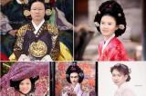 CHẾT CƯỜI: Duy Mạnh, Anh Đức trở thành thiếu nữ quý tộc của Hàn Quốc