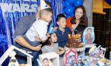 Jennifer Phạm làm sinh nhật cho con trai Bảo Nam trước khi lên đường sang Úc công tác