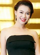 Top 10 Hoa hậu Việt Nam Trương Tùng Lan đẹp kiêu kì với tone đen