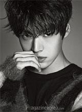'Em trai Chun Song Yi' đẹp lạnh lùng trên tạp chí