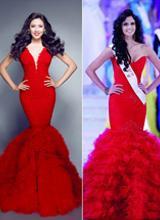 Nguyễn Thị Loan bị tố trang phục 'đạo ý tưởng' tại Miss World