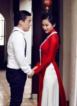 Trọn bộ ảnh cưới đẹp lung linh của Lam Trường ở Hội An
