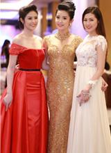 Huyền My lộng lẫy tự tin khoe dáng giữa dàn Hoa hậu Việt