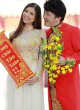 Phạm Thanh Thảo đón Tết sớm cùng Dương Ngọc Thái