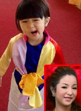 Con gái Thúy Nga 'đỏng đảnh' như Thị Mầu đi chùa