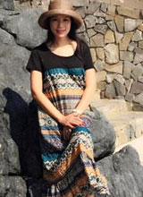 Trịnh Kim Chi bầu bí vẫn điệu đà đi biển