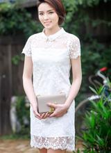 Hoa hậu Kỳ Duyên đẹp 'vừa đủ' với style nền nã