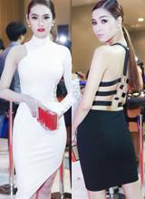 Linh Chi - Kỳ Hân nổi bật trên thảm đỏ Thái Lan