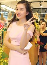 Em gái Vũ Hoàng Điệp xinh đẹp như Hoa hậu