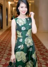 Trần Thị Quỳnh rạng rỡ và nổi bật tại sự kiện