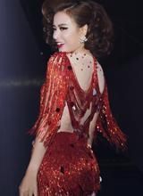 Hoàng Thùy Linh 'sexy hết cỡ' trên sân khấu The Remix