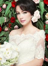 Ngọc Thúy rạng rỡ làm cô dâu xinh đẹp