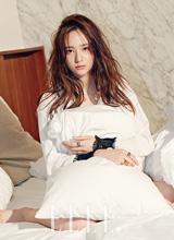 Krystal F(x) đẹp lạnh lùng kiêu sa trên tạp chí