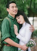 Lan Phương và Kiều Minh Tuấn tái hiện mối tình người lính