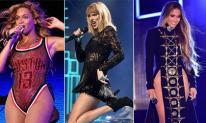 10 nữ ca sĩ thu nhập khủng nhất năm 2017