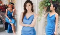 Midu xứng danh mỹ nhân 'siêu tiết kiệm' của showbiz Việt, một mẫu đầm hai dây mặc đến 3-4 lần vẫn không hết đẹp
