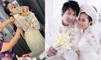 Thử mặc lại áo cưới cách đây 11 năm, Ốc Thanh Vân nhận được kết quả bất ngờ