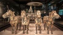 Khám phá cỗ chiến sa 2.000 năm trong lăng mộ Tần Thủy Hoàng