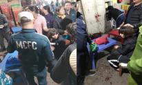 Điều tra nghi án bịt mặt nổ súng, cướp tài sản của nữ tiểu thương ở chợ Long Biên