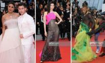 Thảm đỏ LHP Cannes 2019 ngày 5: Vợ chồng Hoa hậu thế giới hóa cô dâu chú rể; thảm họa tạo dáng xuất hiện