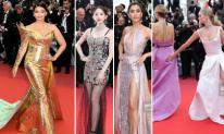 """Thảm đỏ LHP Cannes 2019 ngày 6: Hoa hậu đẹp nhất thế giới """"cạnh tranh"""" với dàn mỹ nhân Trung Quốc, Thái Lan; 2 chân dài gây sốc với màn đụng chạm """"vòng 3"""""""